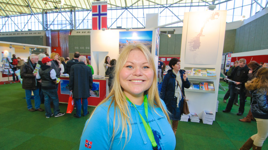 Norway Theme Country at the Fiets en Wandelbeurs 2011